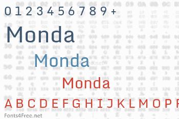 Monda Font