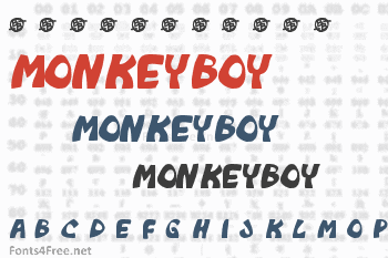 Monkeyboy Font