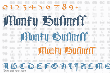 Monky Business Font