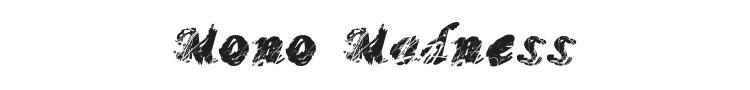 Mono Madness Font Preview