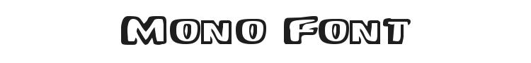 Mono Font Preview