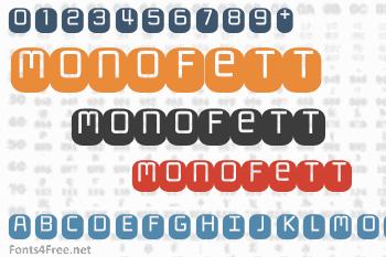 Monofett Font