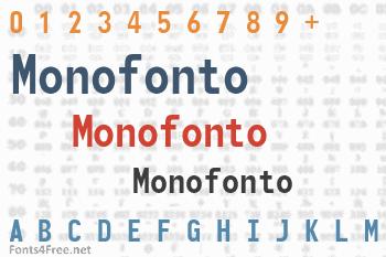 Monofonto Font