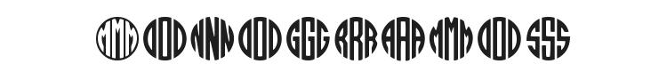 Monogramos Font Preview