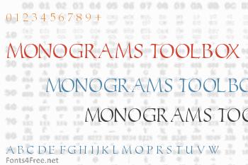 Monograms Toolbox Font