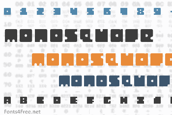 Monosquare Font