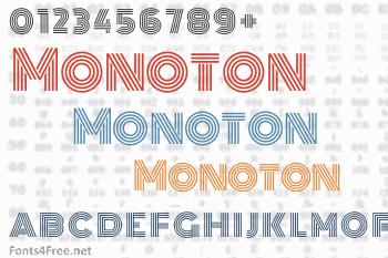 Monoton Font