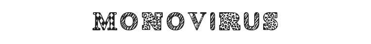 Monovirus Font Preview