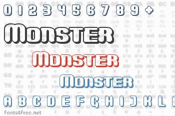 Monster Font