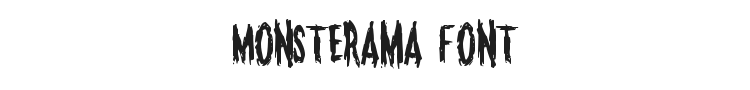 Monsterama Font Preview