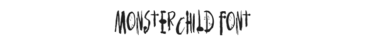 Monsterchild Font