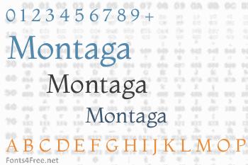 Montaga Font