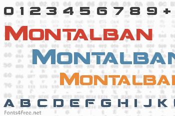 Montalban Font