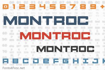 Montroc Font