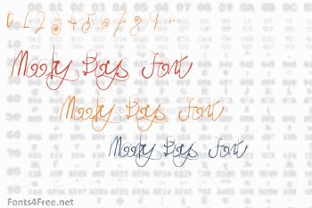 Moody Boys Font