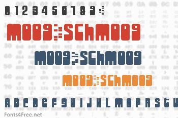 Moog/Schmoog Font