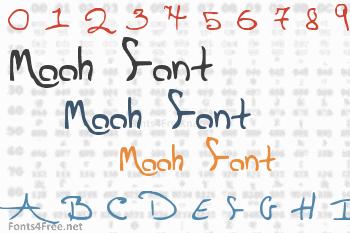 Mooh Font