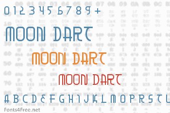 Moon Dart Font