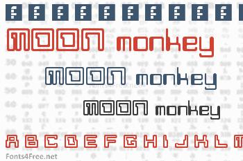 Moon Monkey Font