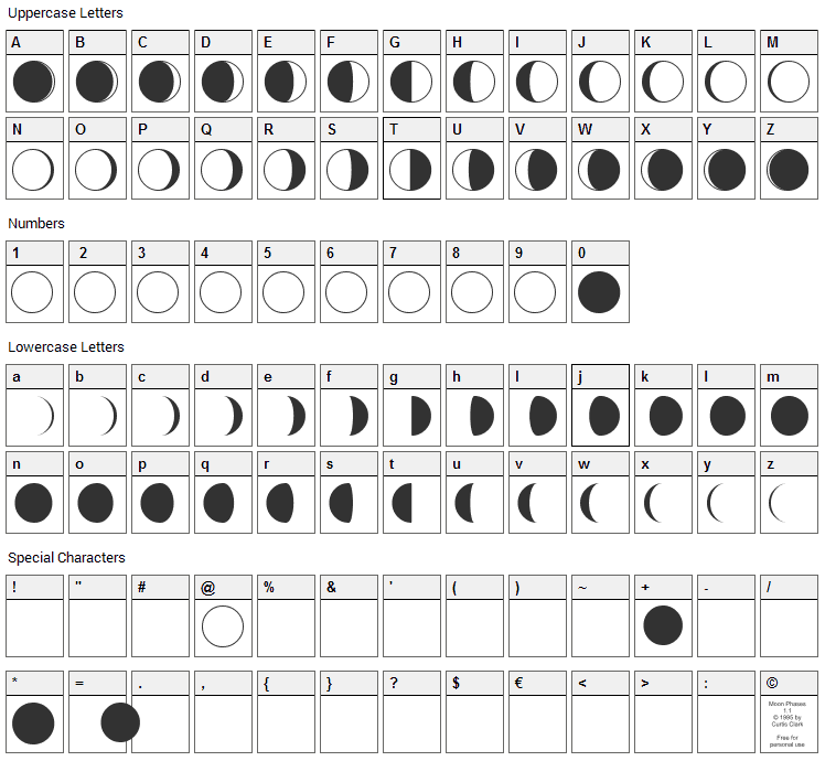 Free moon phases cliparts, download free clip art, free clip art.