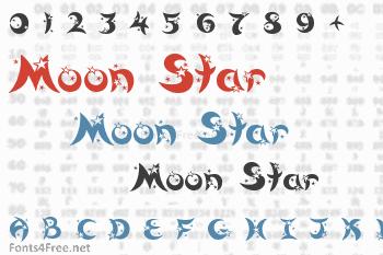 Moon Star Font