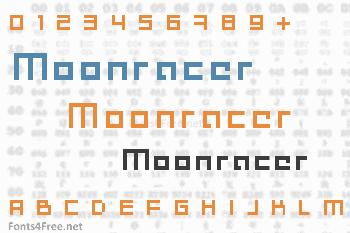 Moonracer Font