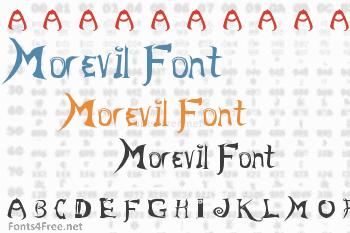 Morevil Font