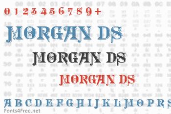 Morgan Ds Font