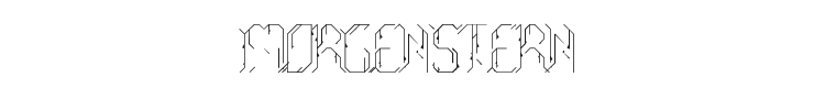 Morgenstern Font Preview