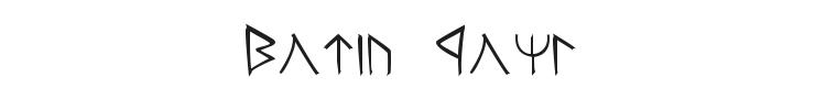Moria Font