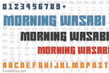Morning Wasabi Font