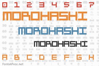 Morohashi Font