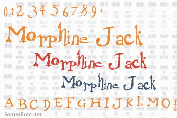 Morphine Jack Font