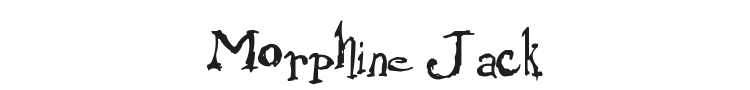 Morphine Jack Font Preview