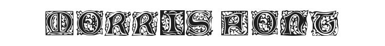 Morris Jenson Initialen Font Preview
