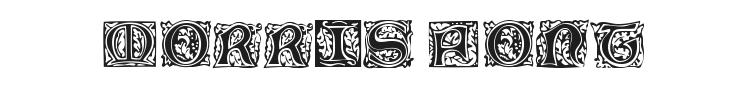 Morris Jenson Font Preview