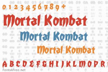Mortal Kombat Font