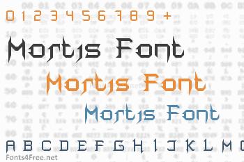 Mortis Font