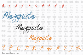 Mosquito Font