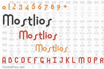 Mostlios Font