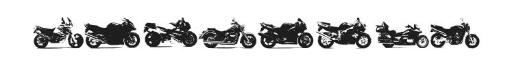 Motor Bikez Font Preview