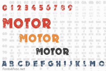 Motor Font
