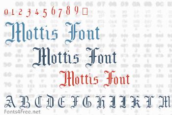 Mottis Font