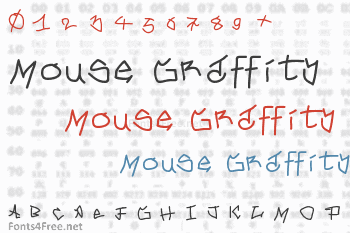 Mouse Graffity Font
