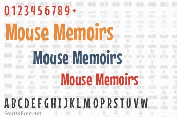 Mouse Memoirs Font