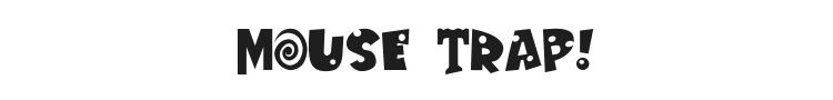 Mouse Trap! Font Preview
