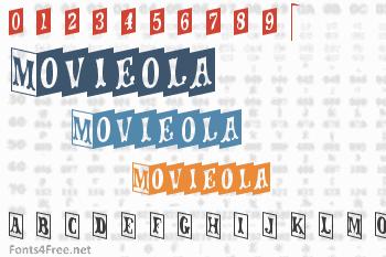 Movieola Font
