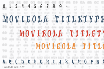 Movieola Titletype Font