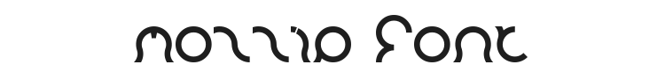 Mozzie Font Preview