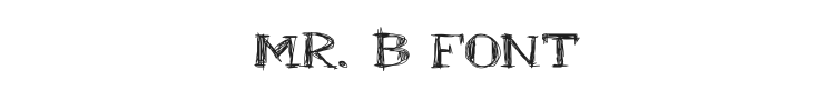 Mr. B Font Preview